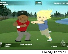 South Park, Tiger Woods video game