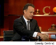 Stephen Colbert, Tom Hanks, Band of Brothers