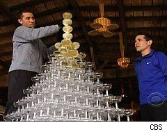 The Amazing Race, Champagne Pyramid
