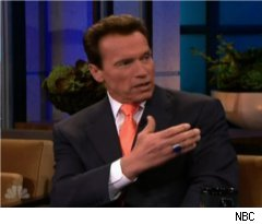 Arnold Schwarzenegger on 'Tonight Show'