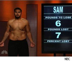 Sam Loses More Than He Expected on 'The Biggest Loser'