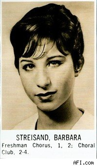 barbra_streisand_high_school_yearbook