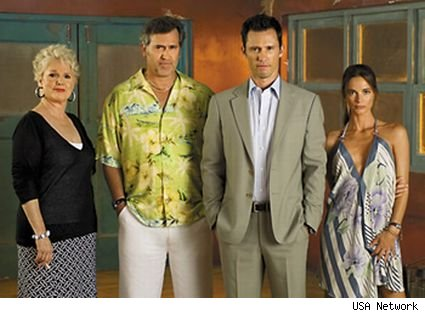 Before the 4th season has begun, USA renews 'Burn Notice' for two more years
