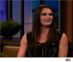 Brooke Shields Talks Plane Crash on 'Tonight Show'