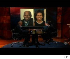Michelle Obama's Brother on 'The Colbert Report'