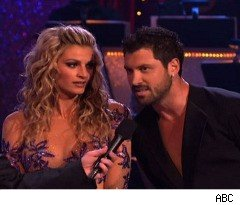 Erin and Maksim Get in Trouble With a Judge on 'Dancing With the Stars'