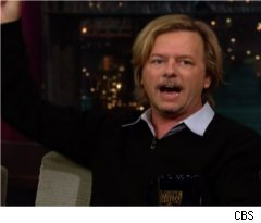 David Spade on 'Late Show'