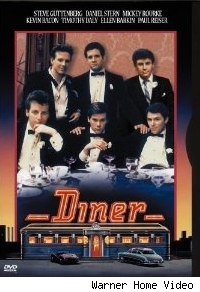 'Diner' DVD cover