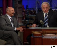 Letterman, Dr. Phil Talk Late-Night Wars