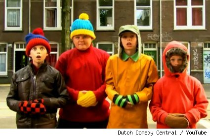 The Real South Park from Dutch Comedy Central