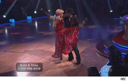 Kate Gosselin dances the paso doble.