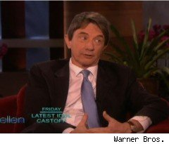 Martin Short Talks About Plastic Surgery on 'Ellen'