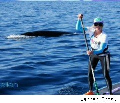 A Whale of Tale on 'Ellen'