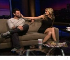 Erin Andrews and Maks on 'Chelsea Lately'