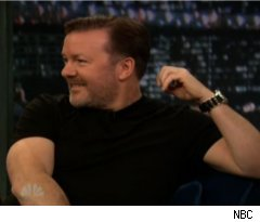 Ricky Gervais on 'Late Night with Jimmy Fallon'