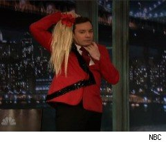 Jimmy Fallon Does Kate Gosselin on 'Late Night'