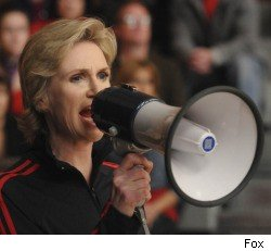 Glee, Jane Lynch, Madonna, Vogue