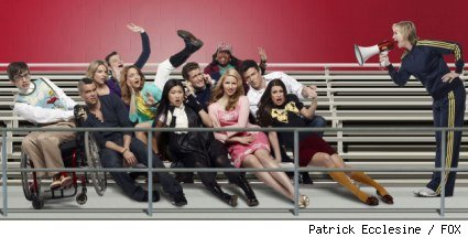 The cast of 'Glee;' they come back to FOX April 12