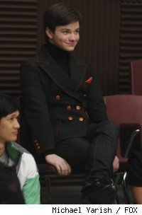 Chris Colfer as Kurt in 'Glee'