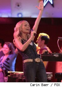Kristin Chenoweth as April in 'Glee' - 'Home'