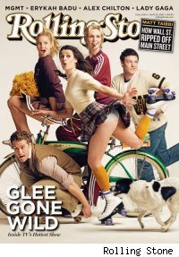 'Glee' on the cover of Rolling Stone