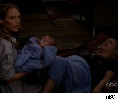 Giving Birth on 'Grey's Anatomy' On the last episode of 'Grey's Anatomy' ...