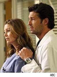Grey's Anatomy, Derek and Meredith