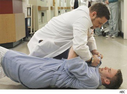 The Karev brothers fight