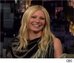 Gwyneth Paltrow Talks Kids on 'Late Show'