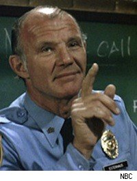 Sgt. Esterhaus on 'Hill Street Blues'