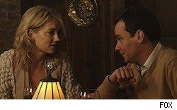 Cynthia Watros and Robert Sean Leonard on 