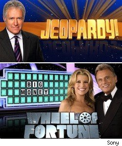 Jeopardy and Wheel of Fortune