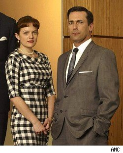 Jon Hamm, Elisabeth Moss, Mad Men