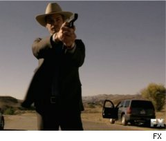 Raylan Kills on 'Justified'