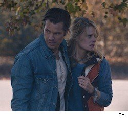 Timothy Olyphant and Joelle Carter on 'J