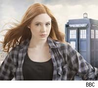 Karen Gillan as Amy Pond on 'Doctor Who'