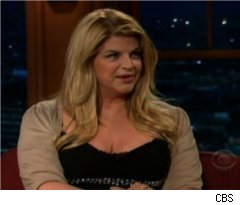 Kirstie Alley on 'Late Late Show with Craig Ferguson'