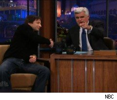 David Duchovny Puts Jay Leno on the Spot