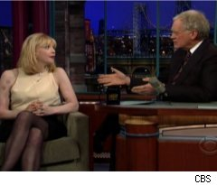Courtney Love Talks Flashing David Letterman