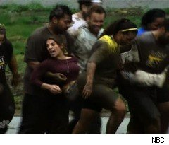 A Mud Fight on 'The Biggest Loser'