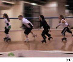 Roller Derby on 'Marriage Ref'