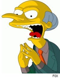 C. Montgomery Burns, 'The Simpsons'