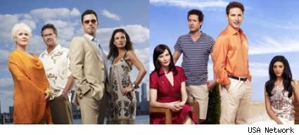 Burn Notice and Royal Pains return in June