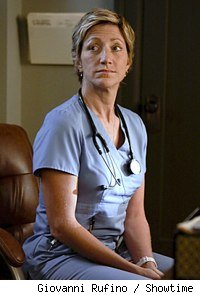 Edie Falco in 'Nurse Jackie'