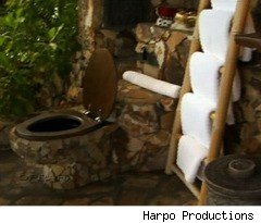 Richard Branson's Bathroom on Oprah