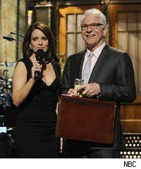 Saturday Night Live, Tina Fey, Steve Martin