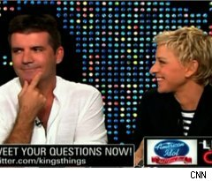 Simon Cowell, Ellen DeGeneres Talk 'Idol' on 'Larry King Live'