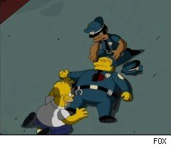 Chief Wiggum Gets Shot on 'The Simpsons'
