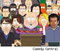 200 celebrities verus 'South Park'