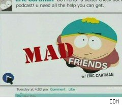 Facebook on 'South Park'